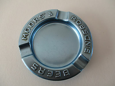 Famous For High Quality Raw Materials Vintage Moors & Robson's Beers Tinplate Advertising Ashtray B And Great Variety Of Designs And Colors Full Range Of Specifications And Sizes