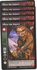 Mitru the Hunter x5 Gangrel antitribu KMW