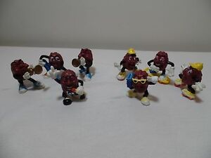 Vintage Califonia Rasin Figures