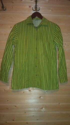 LADIES MARIMEKKO GREEN COTTON JOKAPOIKA SHIRT SZ S