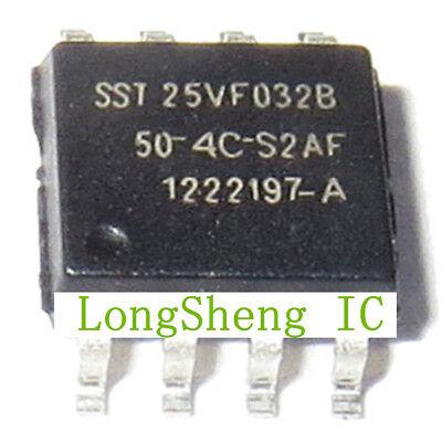 1PCS SST25VF032B-80-4I-S2AF IC FLASH SER 32M 80MHZ SPI 8SOIC 25VF032 #Q920 ZX