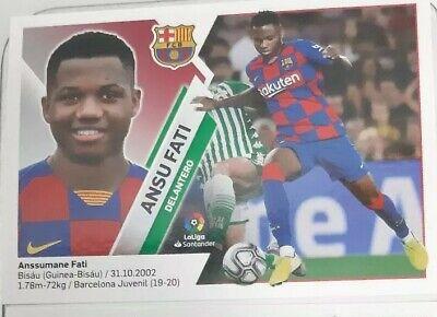 "F.C.BARCELONA COLOCA DE 4ª EDICIÓN Liga Este 2019//20 ANSU FATI Nº 13 BIS/"""