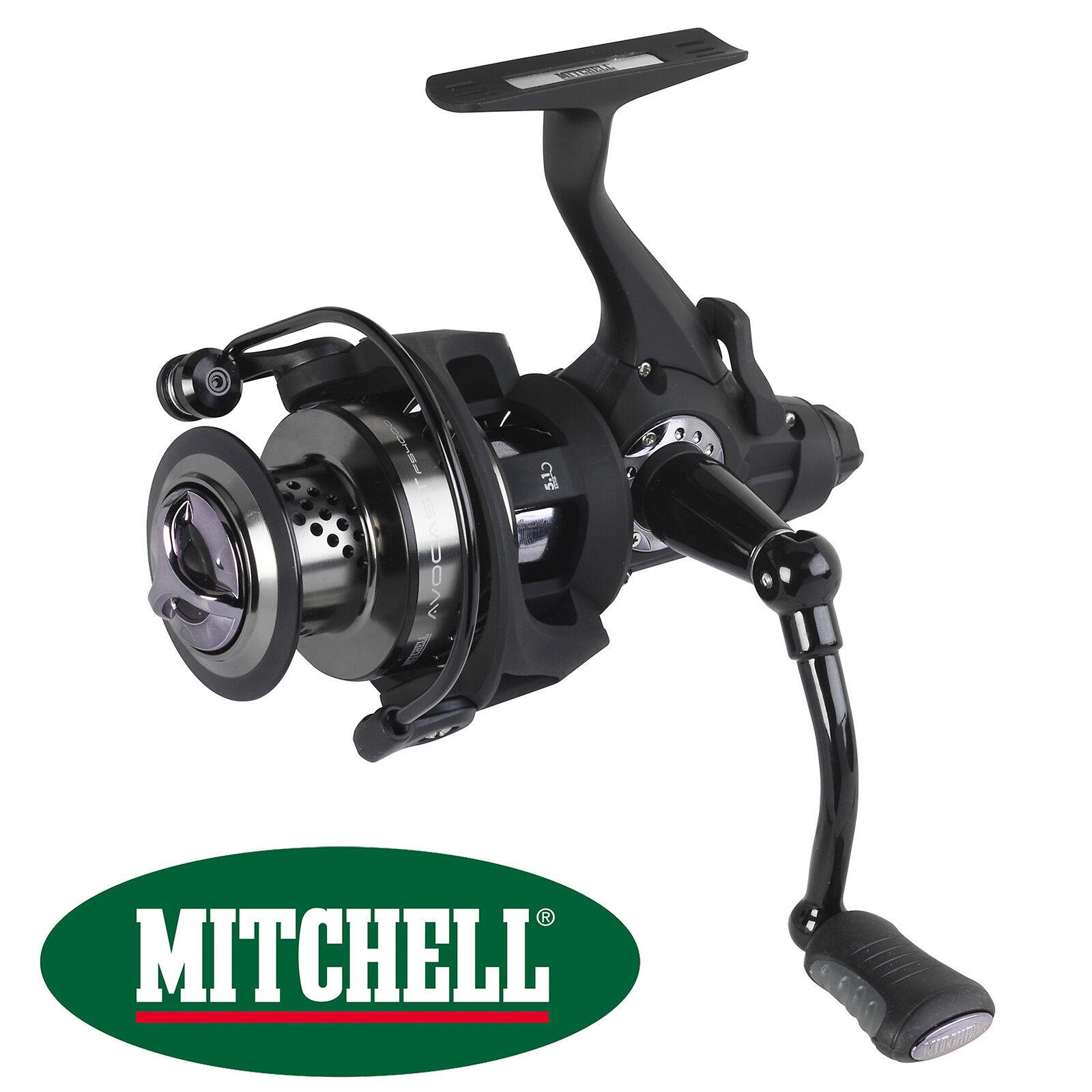 Mitchell  Avocast FS 4000 Free Runner Spinning Reel Rear Drag Carp Coarse Fishing  free shipping worldwide
