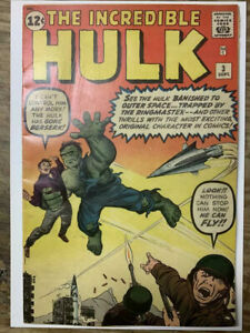 Incredible-Hulk-3-Silver-Age-Marvel-Comic-Book-Origin-Re-Told-FN-Restored