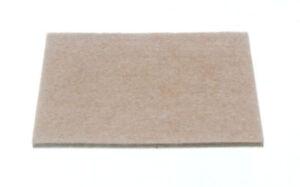 Rectangulaire-Feutre-Coussinets-Adhesif-100Mm-X-75Mm-X-4Mm-Paquet-de-1