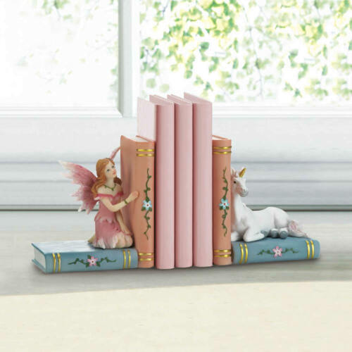 -A GREAT GIFT IDEA!!: ENCHANTED FAIRY TALE BOOKENDS #18596- NEW