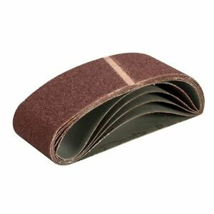 Triton 40 Grit Sanding Belt 76 x 533mm 5pk 713502