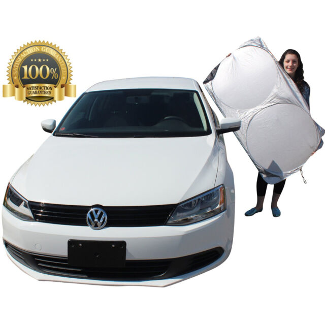 Car Sun Shade Foldable Metallic Visor Wind Shield Rear Window Snow Block Cover