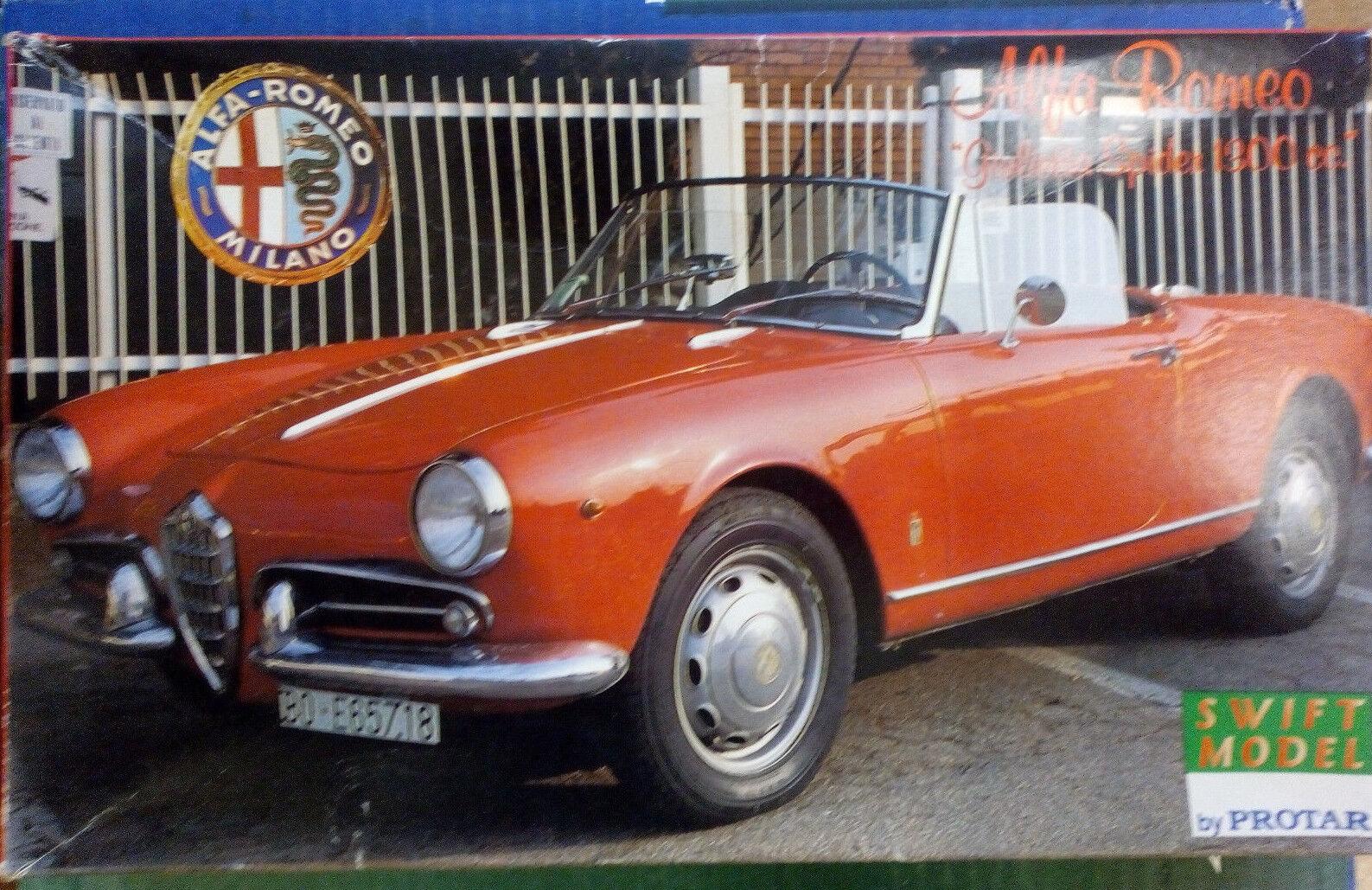 ALFA ROMEO GUILETTA SPIDER 1 24, old ProugeAR vintage neuf dans sa boîte new model kit, Comme neuf