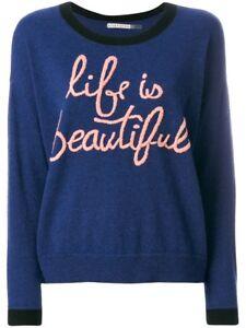 Is Life Xs Oversized Beautiful Eleni Olivia Gebreide sweater topmaat Alice Nwt fqSnaOwx