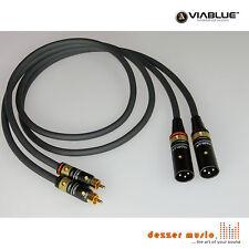 ViaBlue 2x 1m Adapterkabel NF-A7 T6s / XLR Cinch male / High End…SPITZENKLASSE
