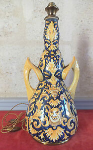 Lamp-Faience-Desvres