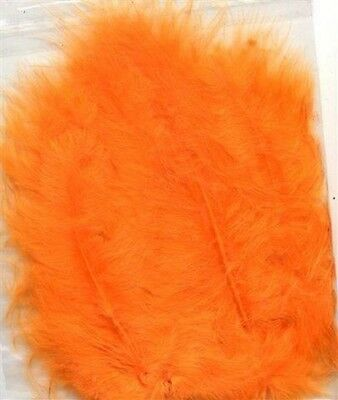 MARABOU FEATHERS  PACK OF 15 approx  -  Various Colours Available 12228-28
