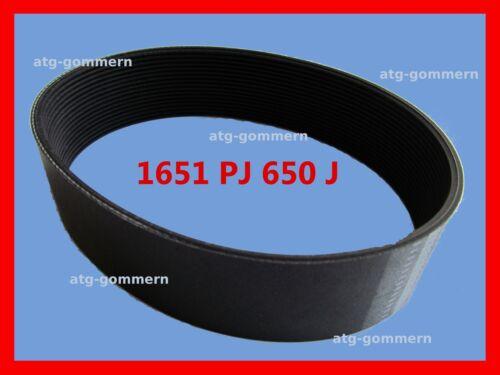 Pj1651 Poly-V correa plana correa estriadas pj 1651 650 J