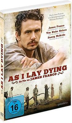 As I Lay Dying (DVD, 2014) NEU + OVP, James Franco