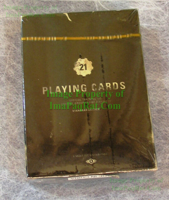 FALLOUT New Vegas Collector's Edition Deck of Caravan Playing Cards NEW Sealed!