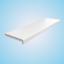 Appui de Fenêtre PVC Blanc Innenfensterbank Rebord pour Intérieur