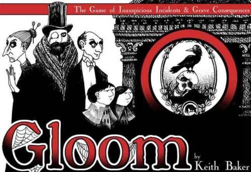 Gloom Jeu de carte 1st Edition Keith Baker