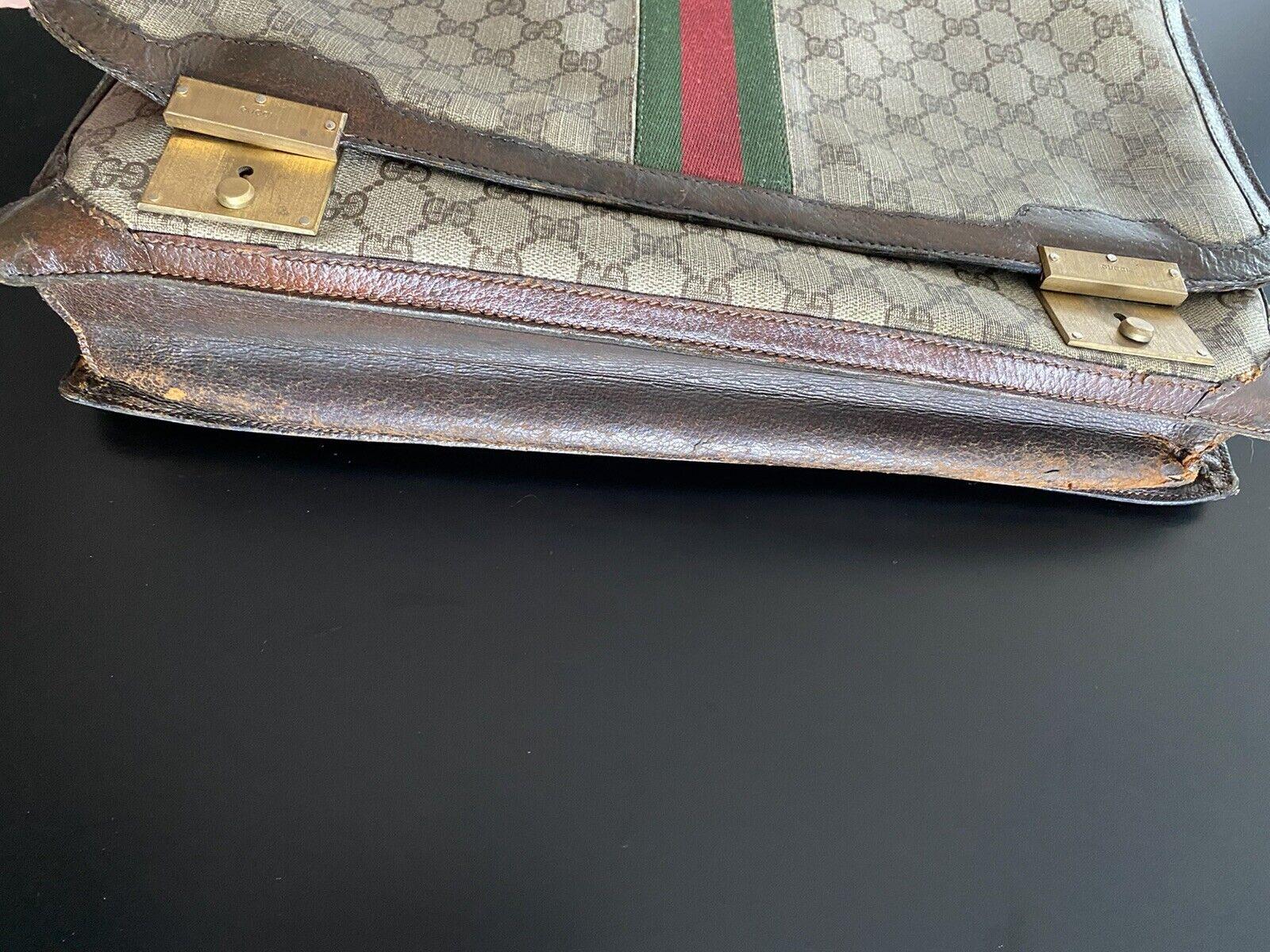 💼Vintage Authentic Gucci Briefcase: 1970s Collec… - image 6