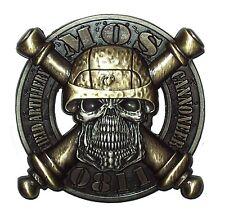 USMC 0811 Field Artillery Cannoneer Skull Marines Challenge Coin