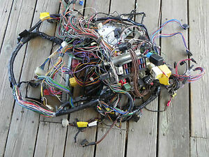 s l300 jaguar xjs 5 3l v12 convertible interior dash wiring harness ebay jaguar wiring harness at fashall.co
