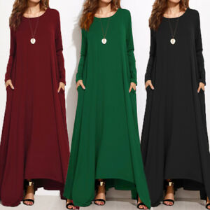 Maxi dress long sleeve ebay auction
