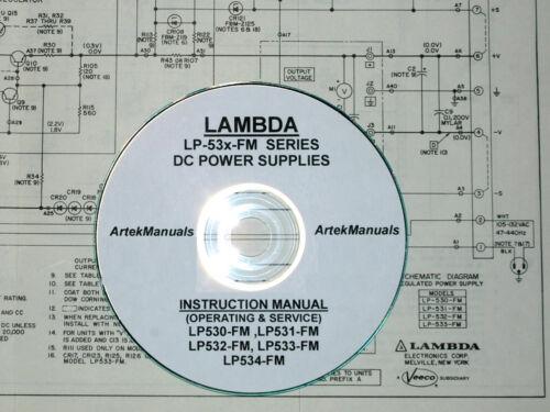 Lambda LP530-FM LP532-FM LP533-FM,LP534-FM,LP535-FM Ops-Srv Manual LP531-FM