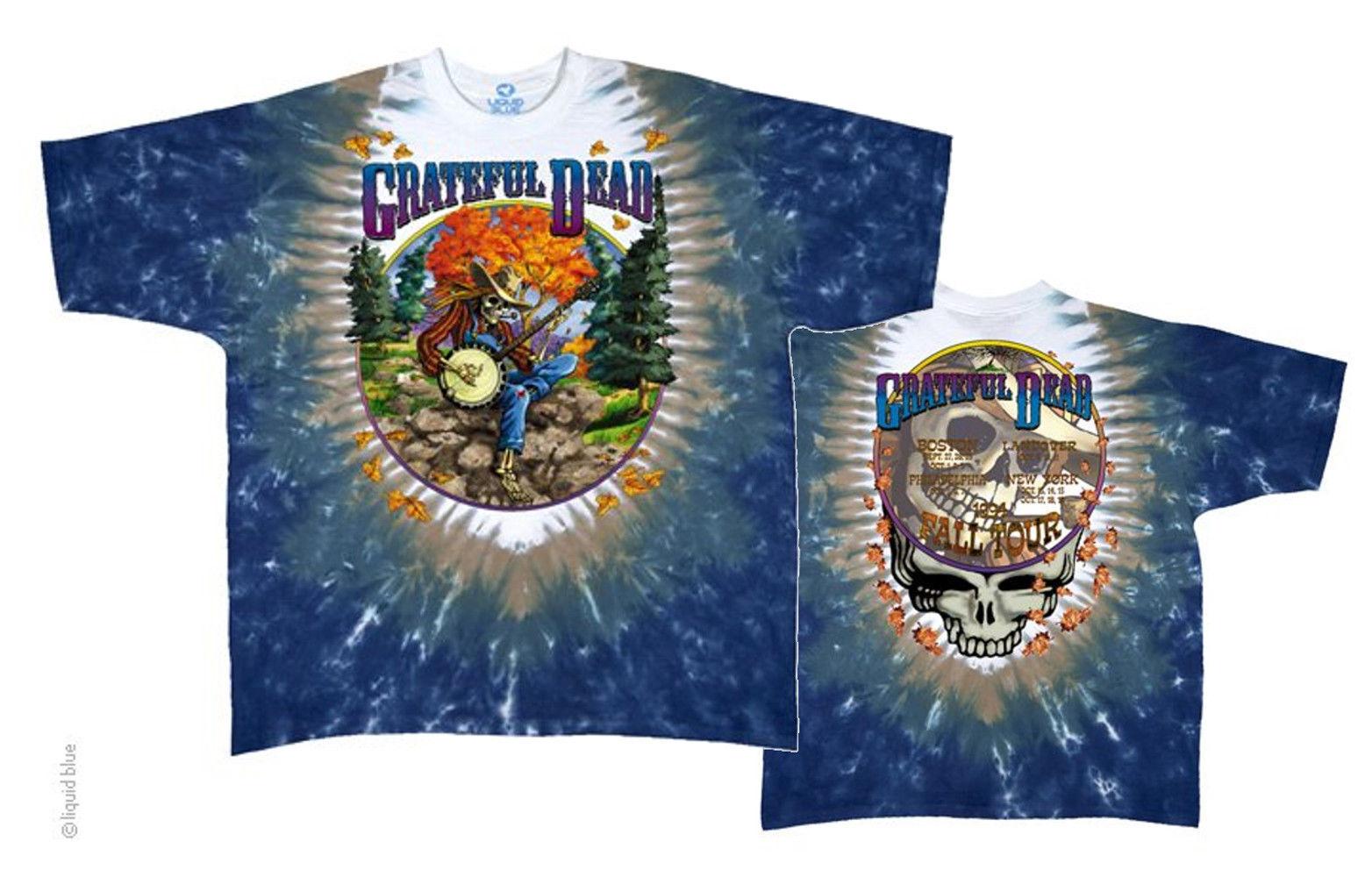 "FREE SHIPPING Grateful Dead /""Truckin/' To Buffalo/"" Double Sided T-Shirt"