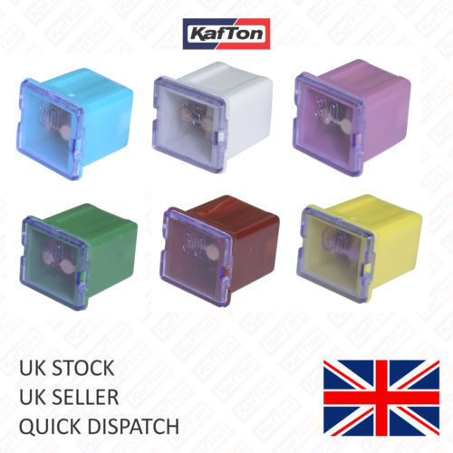 30X Assorted Mixed J Case Type Cartridge Low Profile Car Auto Cable Fuse