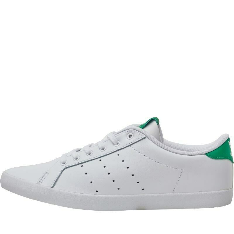 Adidas Originals Womens Miss Stan Trainers White Green Size 4.5 37.3 RRP