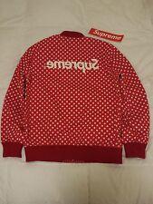 SUPREME x Comme des Garcons Reversible Varsity Baseball Jacket Red M S/S 14