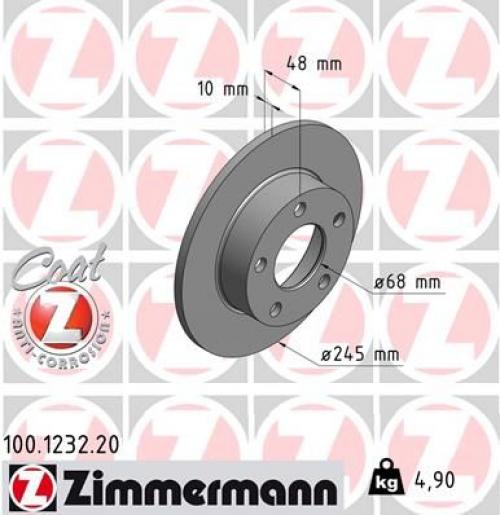 2 Bremsscheibe BREMBO 08.8408.11 COATED DISC LINE passend für AUDI VW