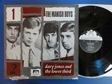 THE MANISH BOYS & DAVY JONES & THE LOWER THIRD UK 82 LP nr MINT David Bowie