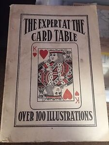 Rare-The-Expert-At-the-Card-Table-S-W-Erdnase-M-D-Smith-Charles-T-Powner-1945-Ed