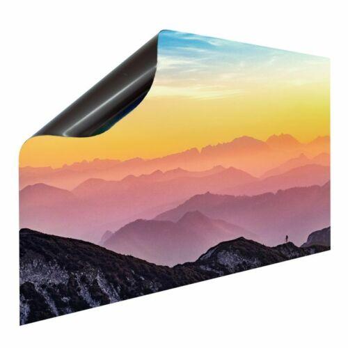 Aimant Radiateur Carénage Radiateur Couverture Chauffage Protection Motif Montagnes