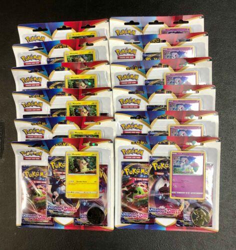 Pokemon Sword /& Shield Booster Box 36 Sealed Packs Morpeko Ponyta Blisters