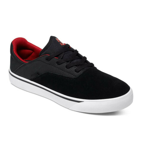 DC SHOES WALLON S MEN SIZE 10.5 NEW IN BOX COLOR BLACK//RED//WHITE
