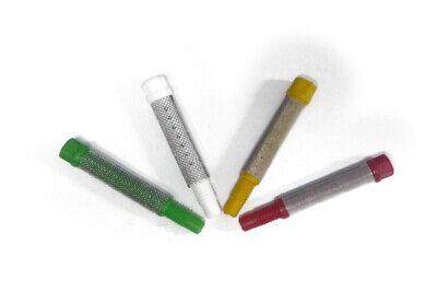 10 X Pistolenfilter Passend Für Optima Airmix Farbspritzpistole Weiß 80 Mesh