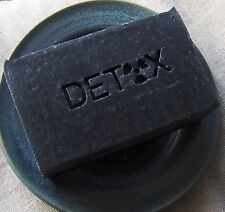 Zeolite Detox Soap with Activated Charcoal and Bentonite Clay by Aquarian Bath