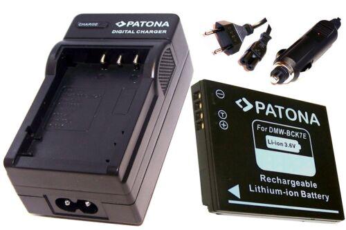 CARGADOR para Panasonic Lumix dmc-fx77n dmc-fx77w Batería dmc-fx77s dmc-fx77p