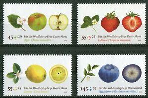 Bund-Nr-2769-2772-sauber-postfrisch-Satz-Motiv-Obst-BRD-2010-MNH