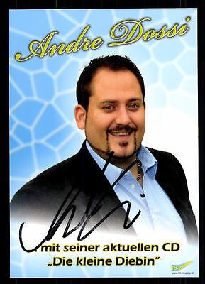 Original, Nicht Zertifiziert 2019 Neuer Stil Andre Dossi Autogrammkarte Original Signiert ## Bc 54261 Elegant Und Anmutig Musik