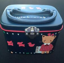 WINKIPINKI Sanrio Tin Metal Carrying Box Case Hello Kitty Winki Pinki