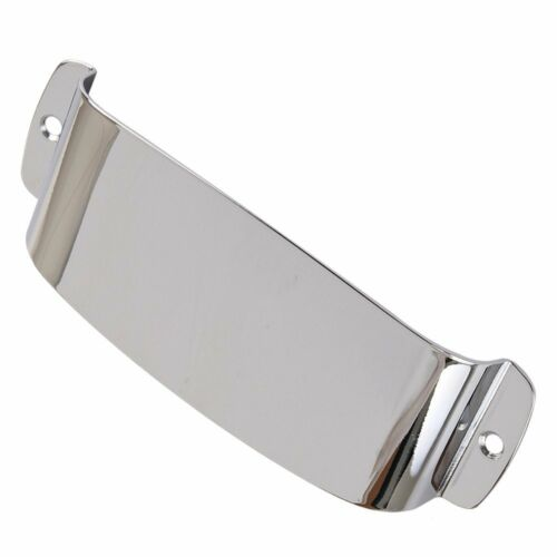 Chrome Plated Steel Pickup Cover Protector for Jazz Bass Electric Bass Guitar