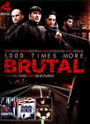 1, 000 Times More Brutal/The Red Corvette/Extreme Honor/Tunnel Vision (DVD, 2015)