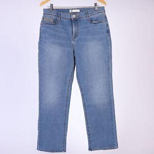 Levi-039-s-512-Perfectly-Slimming-Straight-Leg-Blau-Damen-Jeans-32-27