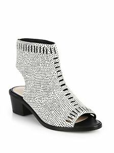 Chaussures Loeffler Bottines Plates Sandales Bout Pois Ouvert Randall Cuir Mercy qRBXp