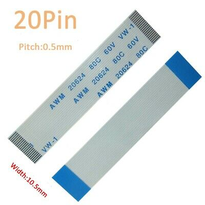 60-Pin FFC//FPC Flexible Flat Cable Wire 20624 80C 60V VW-1 W:30.5mm Pitch 0.5mm