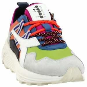 Diadora-Rave-Leather-Pop-Sneakers-Casual-Orange-Mens