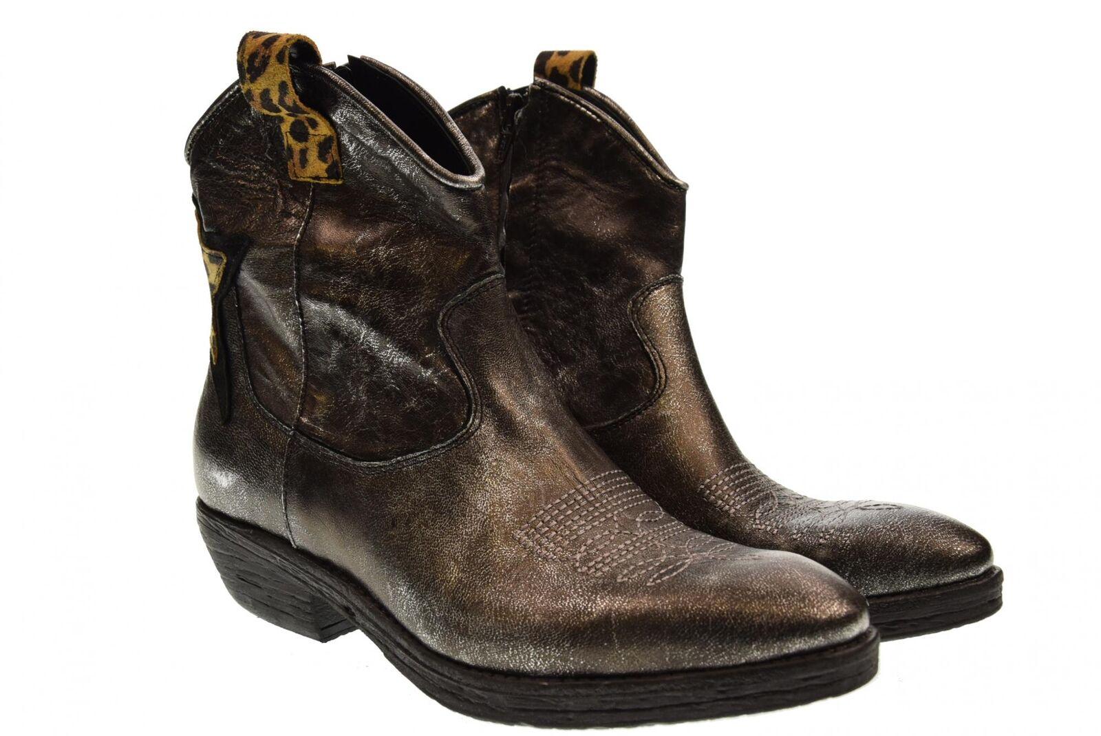 ErHombre's ErHombre's ErHombre's A18u mujer zapatos ankle botas WEST plata  mas preferencial